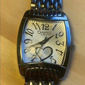Bulova Caravelle heart watch 43L137 stainless